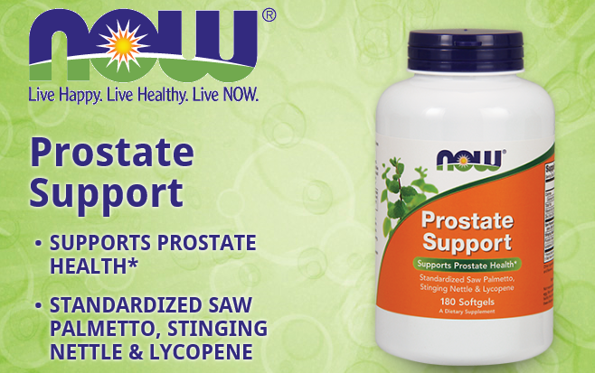 前列腺支持产品NOW Prostate Support 90